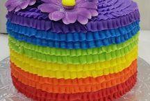 raibbow cake