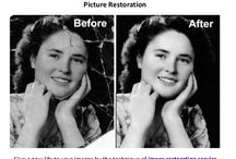 Image Restoration Service / Image Restoration service is called as photo restoration. The main purpose of this service is to restore old photos. Sometimes old images slightly damaged then this service is occupied for making that image newer. The old images can be faded then the owner of the images can not share their past memory with others. We are here for making these images newer for you by the help of image restoration service.