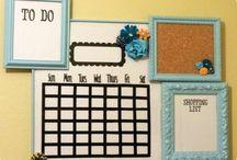 Organização / Dicas para se organizar melhor e também para organizar a casa!
