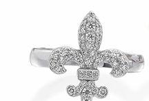 Fleur de Lis Jewelry / Unique designs featuring the Fleur de Lis