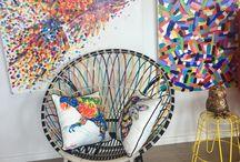 Tracey Keller Studio Snoop / Get a glimpse of what's going on in Tracey Keller's Studio Gallery