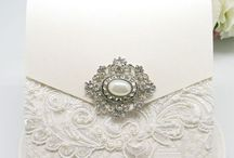 Vintage Pearl & Diamonte Brooches - MBR18A & MBR18P