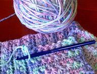 Knitting and crochet stitches