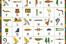 Alphapet Egyptien