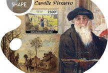 New stamps issue released by STAMPERIJA | No. 466 / NIGER 13 10 2014 - CODE: NIG14413A-NIG14425B