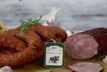 Wyroby z dodatkiem dziczyzny / Wędliny z dodatkiem szlachetnego mięsa z dzika i z jelenia