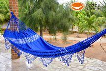 Rede de Dormir Casal Pernambucana Azul / Nossas belas Redes de Dormir da Linha Pernambucana
