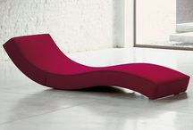 chaiselongue / Moderne chaiselongues.  Noctum: conceptual interior studio for modern, contemporary high-end design. Turn-key implementation in private and contract environments.