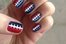 Football Nails / by Daily Makeover
