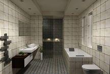 ΑΛΛΑΞΤΕ ΤΗΝ ΧΡΗΣΗ ΤΟΥ ΜΠΑΝΙΟΥ / Πρόταση μπάνιου σε μονοκατοικία στην περιοχή της Αθήνας. Το μπάνιου έχει διάσταση 2,70 x 3.70 m και ύψος 2,70 m.