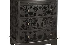 muebles negro azabache /typewritter black