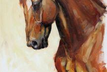yağlı boya (at tabloları) / yağlı boya at tabloları sevenlere