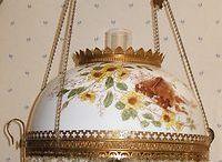 Antique  Hanging Lamps   /  Chandelier