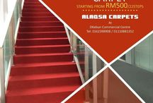 Staircase carpets