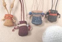 Waxed Linen Tiny Treasures / by ThreeOldKeys