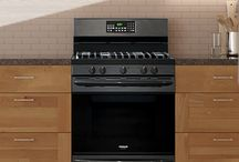 Black Stainless Steel Oven and Range / Dress up your kitchen with one of our new Smudge-Proof™ Black Stainless Steel ranges, ovens, or other kitchen appliances. They fit beautifully with any kitchen design. Plus, cleanup is a snap thanks to the Smudge-Proof™ finish.