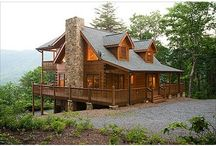 Cabins/Retirement Ideas / by Caroline Wolbrecht