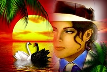michael jackson / hi guys enjoy my michael jackson pics feel free to send a friends request to me on facebook.if not then thats ok too ;)my board my rules anything goes :) just to clarify I would never take credit for someone else's work / by Lenette Parks