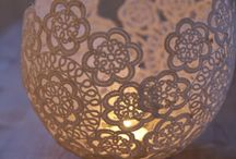 Light'em up / How to make candle holders and inspiring pictures