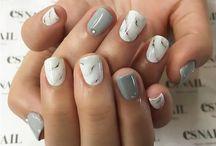 мрамор ногти