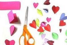 Valentijnsdag knutselen
