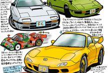 illustration car
