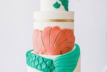 Under The Sea / Under the sea inspiration for parties, birthdays or even christening cake table