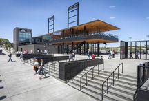 diseño de un campo de beisbol