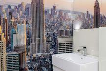 Szklane panele | Lacobel Glass / Szkło kolorowe do kuchni i łazienek