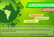 Greenathon- Sustainable Living / The Greenathon initiative at ApnaGhar is our way of helping you usher in a sustainable lifestyle.   / by ApnaGhar