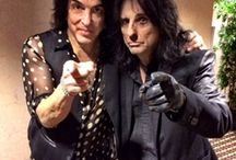 ALICE COOPER AND PAUL STANLEY