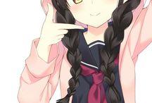 anime/art girl