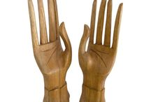 Timber-Treasures jewellery display hands / Our jewellery display hands are exquisitely and elegantly carved and suitable to display and store unworn jewellery, including rings, necklaces, bracelets and more. Each hand is unadorned as to show the natural qualities of the wood. These hands include carvings of both a left hand and a right hand. Dimensions - 20.5 x 6 x 4.5 cms* each *handmade disclaimer