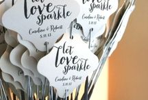 Inspiration || Wedding Favours / Provide your wedding guests with a little something to remember your special day by - with some inspiring ,unique wedding favours.