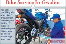 best bike service in gwalior / Want to maintain your bike at your doorstep according to your time
