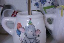 pintura en cerámica y Porcelana