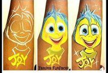 Face Painting Cartoons