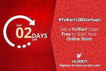 #YoKart100Startups / Launch your multivendor ecommerce store at $0  http://www.yo-kart.com/100-startups-event.html