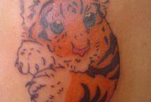 colour tattoo / tattoo with colour