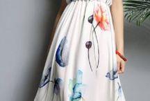 Vestido flor colorido