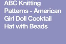 Doll Clothes - Knitted & Crocheted