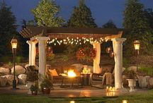 Outdoor Living / Outdoor living space inspiration.  Ideas for turning your backyard into a retreat!