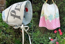 Repurposing Your Kids Clothes / Sometimes your kids clothes are not good enough for resale -stains, holes, missing buttons, etc. But don't just throw them away. At Moxie Jean, we are all about repurposing so here are some fun and crafty ideas on how to repurpose your kids' clothes. / by Moxie Jean