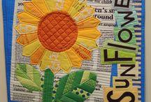 Quilts - Dresden Plate