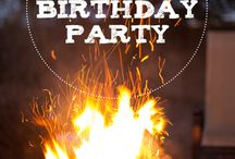 My Birthday Bonfire Party Ideas / Plenty of cute ideas for my birthday bonfire party this November