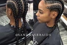 braiding hair impletit