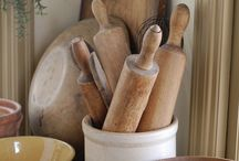 Vintage kitchen and utensils  / by Sandra Buckley