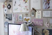 Walk in closet & creative workspace