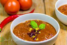 Hauptspeisen / Einfache, vegane Rezepte größtenteils mit Zutaten, die man in jedem Supermarkt finden kann