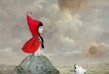 Caperucita Roja / Little Red Riding Hood.  Caperucita Roja.  Fairy Tales. / by Carmen Edwards